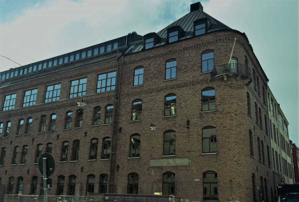 Nordnets nya huvudkontor på Alströmergatan 39