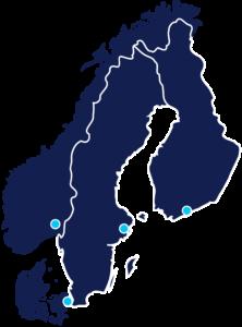 Nordnet Map