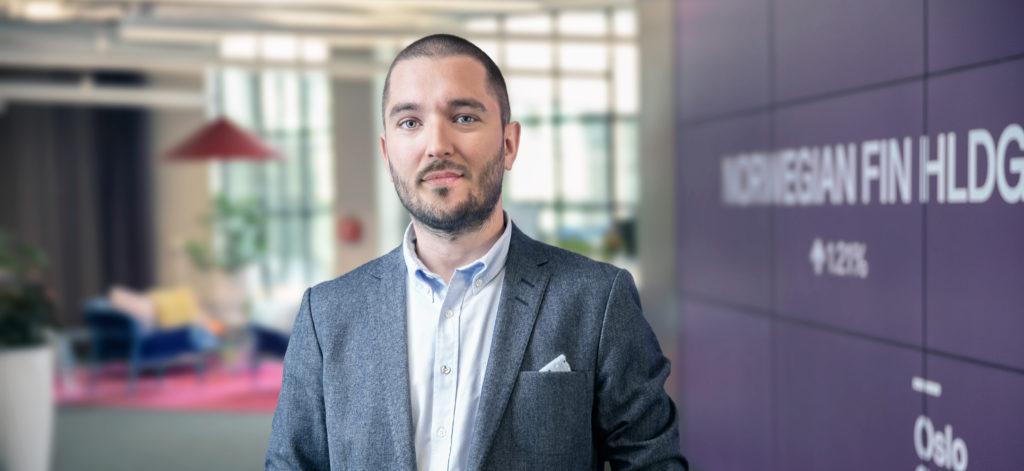 Milos Randelovic, Head of Product Design Nordnet