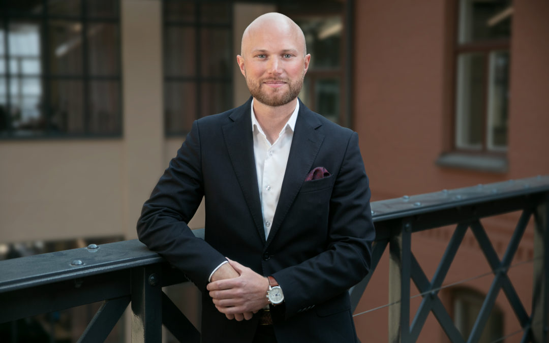 Möt Erik Holm Linden, System Manager Automation