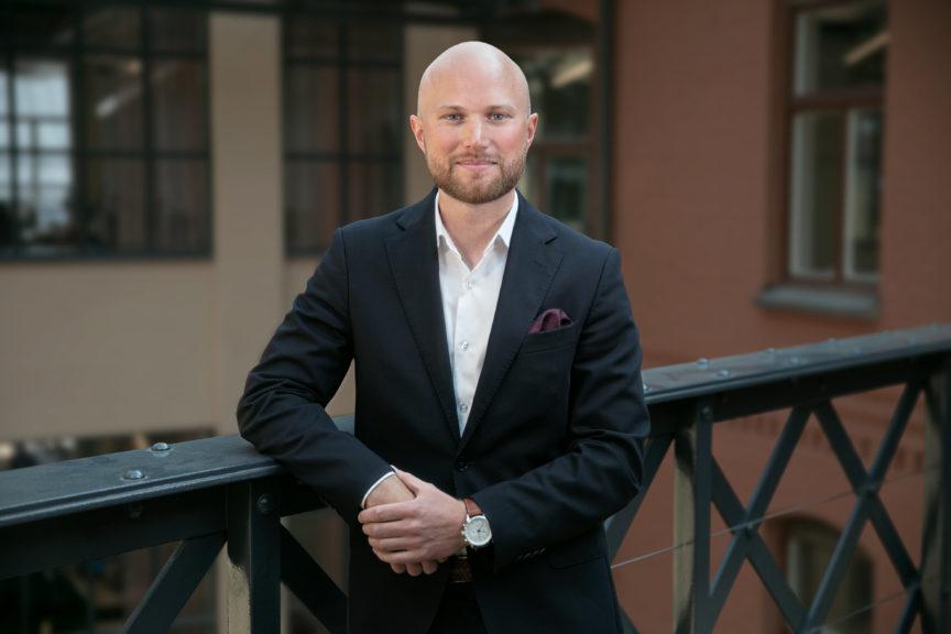 Erik Holm Linden, System Automation Manager Nordnet